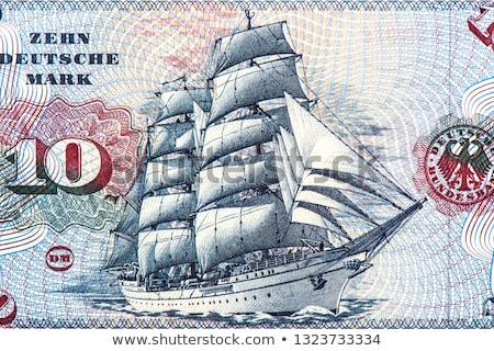 öreg bankjegyek pénz összes igazi üzlet Stock fotó © Peteer
