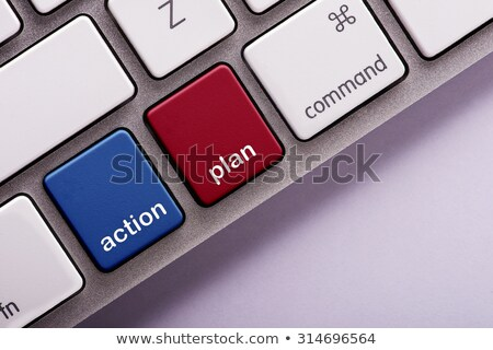 acto · ahora · rojo · clave · urgente - foto stock © oakozhan
