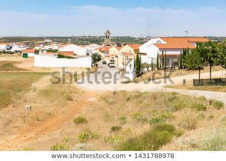 村 スペイン ラ 自然 青 宗教 ストックフォト © lunamarina