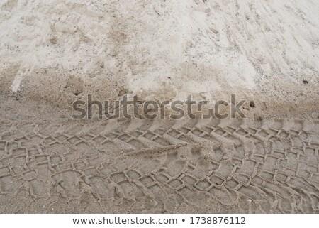 クローズアップ タイヤ 砂漠 環境 階 ストックフォト © actionsports