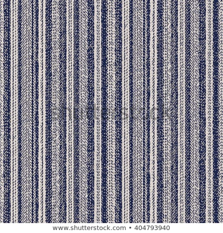 denim fabric striped Stock photo © OleksandrO