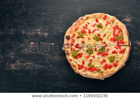 トマト ペスト jarファイル ソース 白 赤 ストックフォト © Digifoodstock