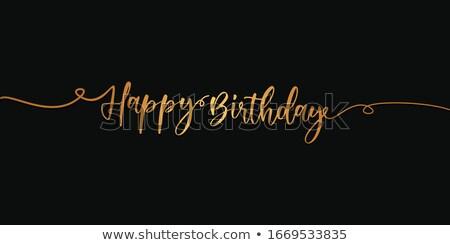С · Днем · Рождения · рождения · фон · свечу · Kid · смешные - Сток-фото © fisher