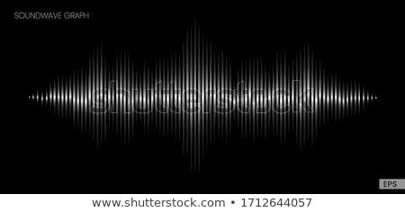 Korektor odizolowany streszczenie muzyki wykres technologii Zdjęcia stock © popaukropa
