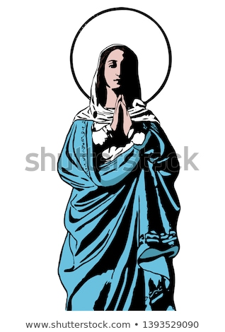 immaculate conception of the virgin mary stock photo © olena