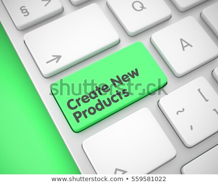 Create New Products on Keyboard Key Concept. Stock photo © tashatuvango