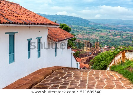 the colonial town of Barichara Colombia  Stock photo © Quasarphoto