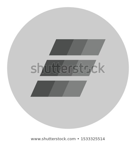 Einsteinium Crypto Currency. Vector EMC2 Graphic Symbol. Stock photo © tashatuvango