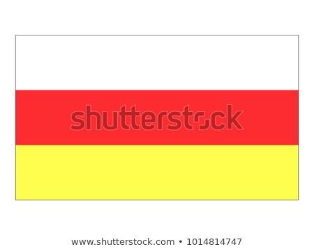 Sur bandera blanco diseno mundo guerra Foto stock © butenkow