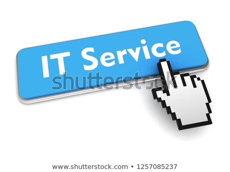 Consultancy Services on White Keyboard Key. 3D. Stock photo © tashatuvango