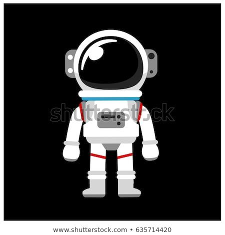 űr öltöny űrhajós pop art retro giccs Stock fotó © studiostoks