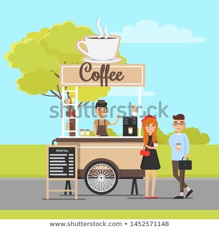 caffè · albero · fagioli · cafe · tè · Cup - foto d'archivio © robuart