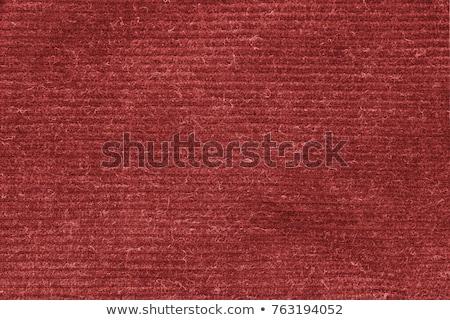 Rosso tappeto texture tela bianco Foto d'archivio © ivo_13
