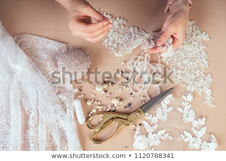 Tailor or dressmaker Stock photo © netkov1