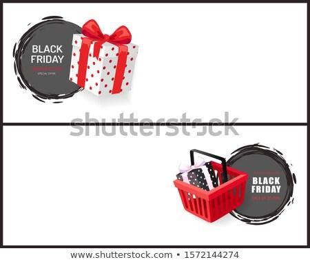 Black friday caldo vendita evento prezzo Foto d'archivio © robuart