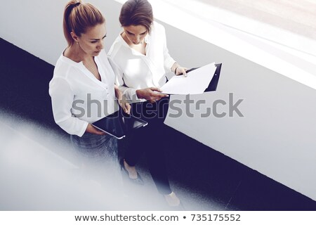 boss and employee relationships pages office work stock photo © robuart