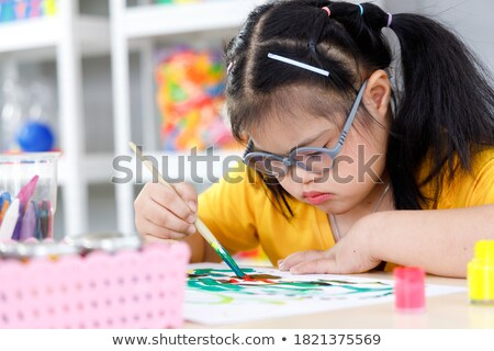 Autism Syndrome Person Stock photo © Lightsource