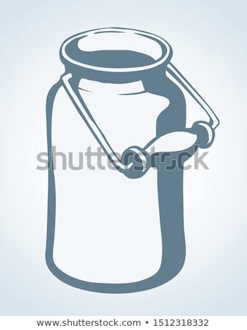 mleka · wektora · zestaw · splash · projektu - zdjęcia stock © netkov1