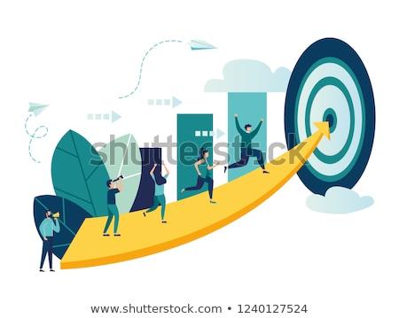 estadística · presentación · texto · establecer · botones - foto stock © robuart