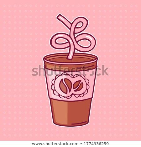 コーヒー · ホット · ジャワ · ドリンク · ベクトル - ストックフォト © robuart