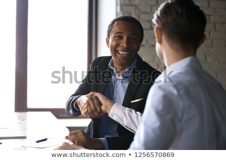 client customer handshake together for successful deal to buy in Stock photo © snowing