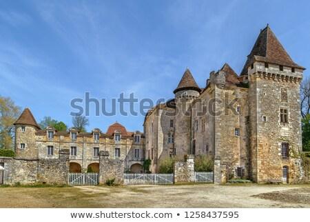 La França cidade francês departamento primavera Foto stock © borisb17