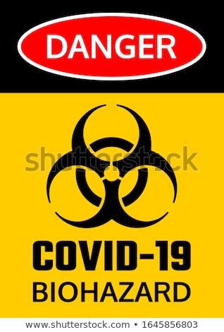 Ograniczony podpisania ostrzeżenie zdrowia bezpieczeństwa Zdjęcia stock © alessandro0770
