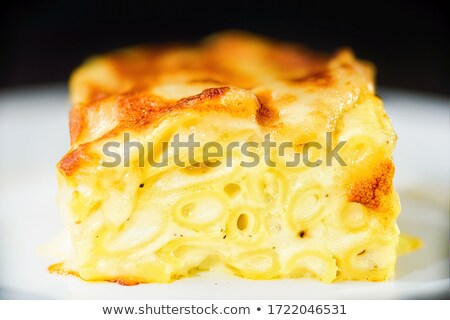 Rustico italiana americano mac formaggio Foto d'archivio © zkruger