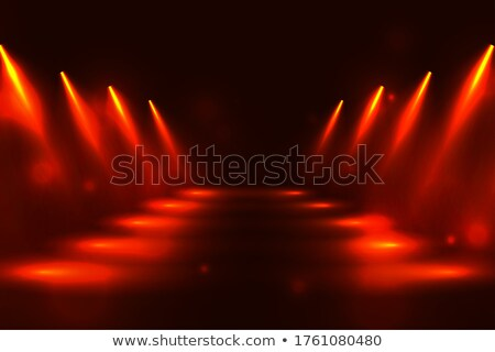 spotlight pathway in perspective style design background Stock photo © SArts