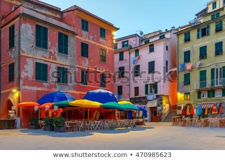 Vernazza village illuminated in the night, Cinque Terre, Liguria, Italy Stock photo © dmitry_rukhlenko