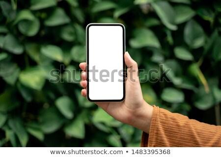 женщину пустая страница азиатских сумерки Сток-фото © smithore