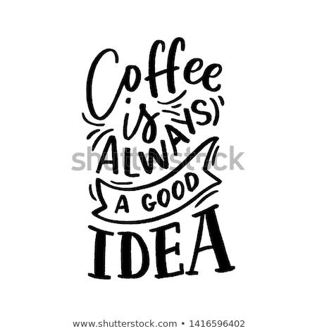 Foto stock: Copo · idéia · imagem · café · arco-íris · cor