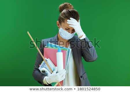 Stressed teacher Stock photo © photography33