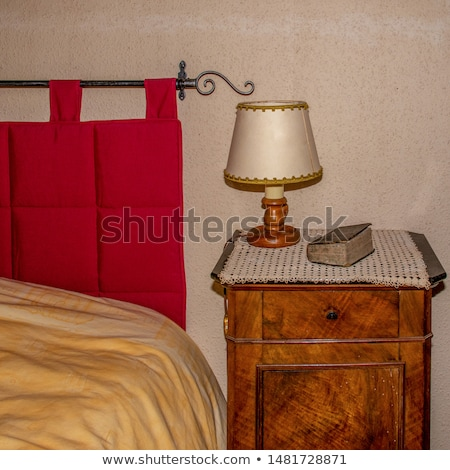 Stock photo: Bible On Bed Side Table