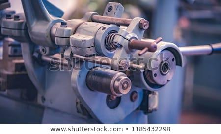 Deniz dizel yeni mavi dizel motor yalıtılmış Stok fotoğraf © Stocksnapper