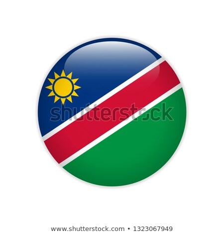 Namibia flag icon. Stock photo © zeffss