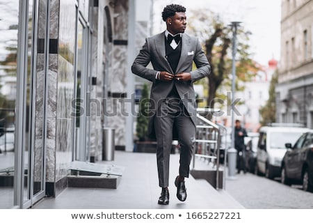 Erkek moda model high fashion portre seksi Stok fotoğraf © curaphotography
