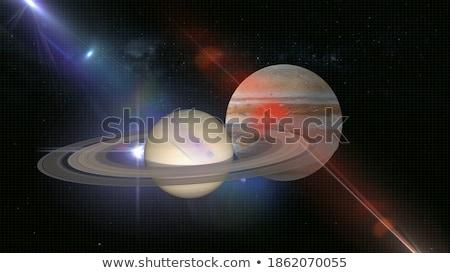 Saturn Stock photo © ajlber