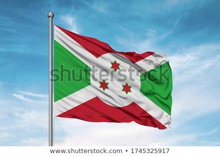 Político bandeira Burundi mundo país Foto stock © perysty