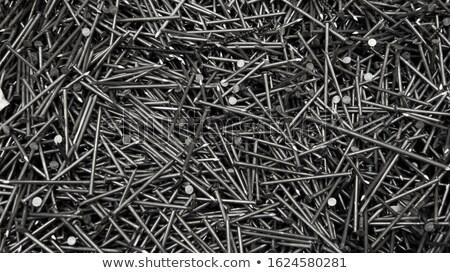 pile of nails stock photo © macropixel