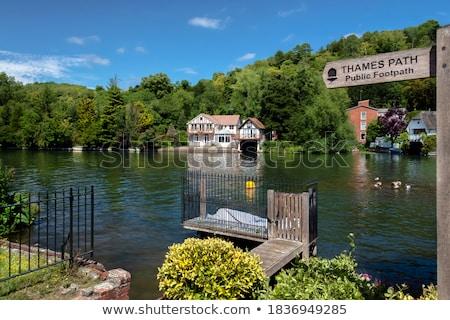 Thames Londres vue rivière modernes pont Photo stock © zittto