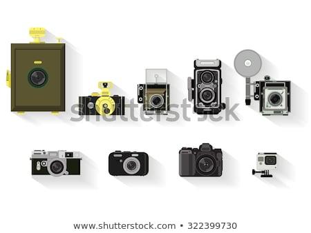 évolution caméras anciens modernes numérique film Photo stock © RuslanOmega