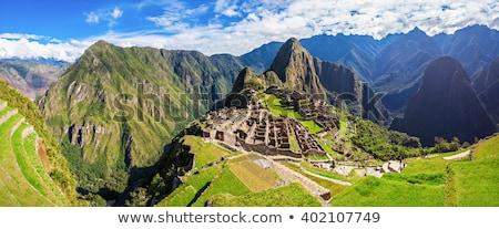 ruinas · antigua · ciudad · Machu · Picchu · Perú · detalle - foto stock © backyardproductions
