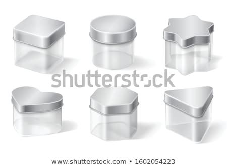 Sugar Jar with Clear Lid Stock photo © shutswis