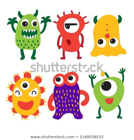 Cute Little Alien Stock photo © AlienCat
