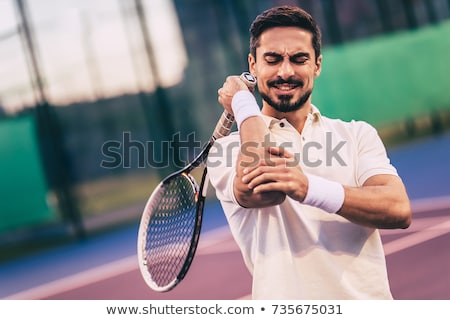 painful elbow Stock photo © DTKUTOO