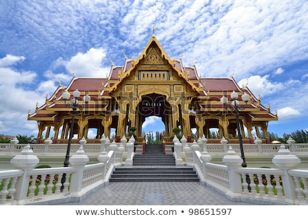 Bang Pa-In Aisawan Thipya-Art (Divine Seat of Personal Freedom)  Stock photo © meinzahn