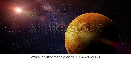 Venus planet and stars - 3D render Stock photo © Elenarts
