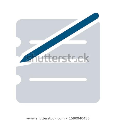 Simple business briefcase Stock photo © curvabezier
