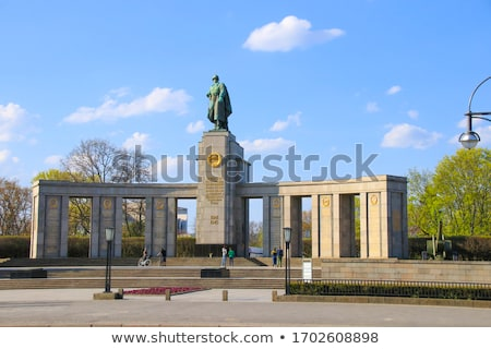 Soviet War Memorial in Berlin Stock photo © chrisdorney